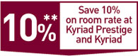 Work committees offer - Save 10% on room rate at Kyriad and Kyriad Prestige